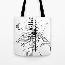 Night Sign Tote Bag