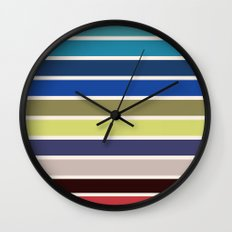 The colors of - kiki's delivery service  Wall Clock