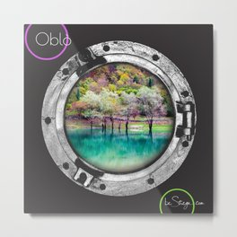Oblo by be Strega | Tenno Metal Print