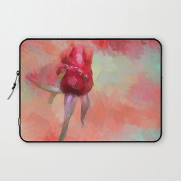 Red Rose In Spring Laptop Sleeve