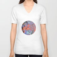 geology V-neck T-shirts featuring Terralite by Eileen Holland