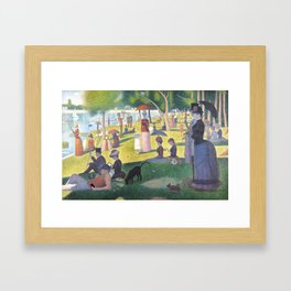 Sunday afternoon Framed Art Print
