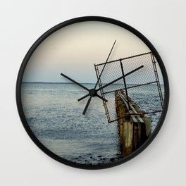 Beyond the Shore's Gate Wall Clock
