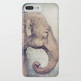 The smiling Elephant iPhone Case