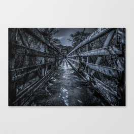 Scary Bridge Canvas Print