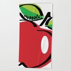 Apple Swoozle Beach Towel