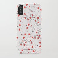 martell iPhone & iPod Cases featuring Bunny Invasion  by G Martell
