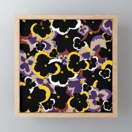 Pansy Love Framed Mini Art Print