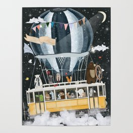 the magical flying tram Poster