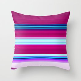 Stripes 37 Throw Pillow