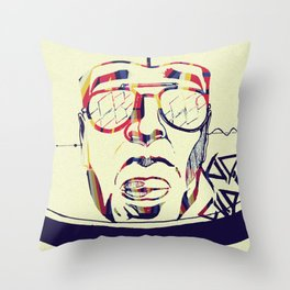 Kidcudi Throw Pillow