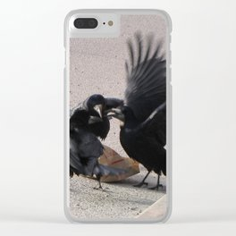 Parteeey At McDonalds Clear iPhone Case