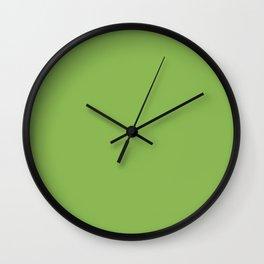 GREENERY PANTONE 15-0343 Green Wall Clock