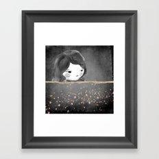 Bed star Framed Art Print