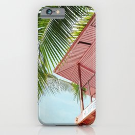 Life Under The Palm Tree iPhone Case