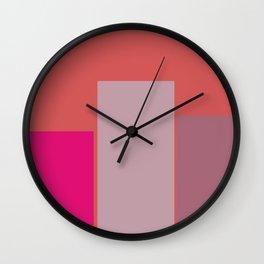 Abstract Rectangular Wall Clock