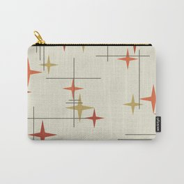 Mid Century Modern Stars Carry-All Pouch