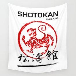 Shotokan Karate Tiger Wall Tapestry