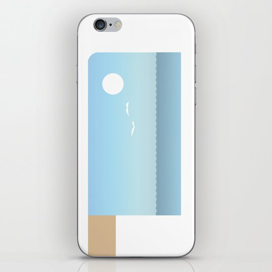 Choppy Waves iPhone & iPod Skin