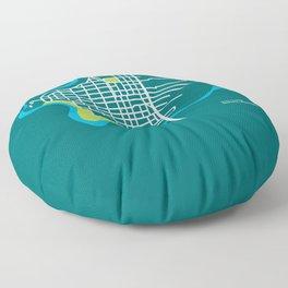 West Central, Spokane Floor Pillow