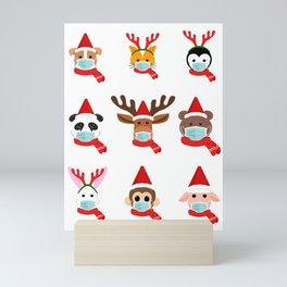 Christmas in quarantine Mini Art Print