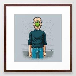 The Son of Apple Framed Art Print