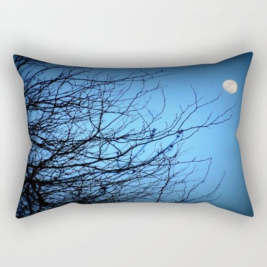 Moonlight at Dusk 2 Rectangular Pillow