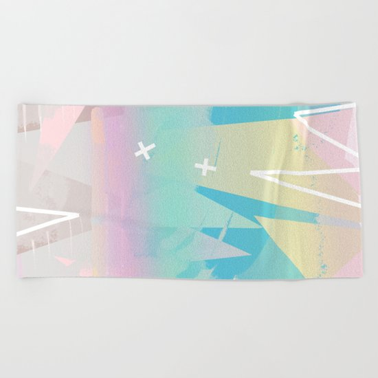 Minimal Pop Beach Towel