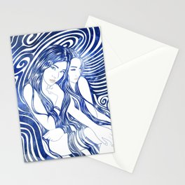 Water Nymphs Stationery Cards