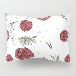 Roses pattern Pillow Sham