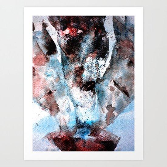 smoke out Art Print