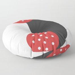sausage phone Floor Pillow