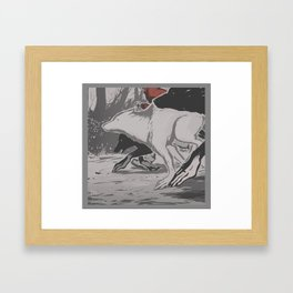 werehunt Framed Art Print