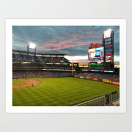 Citizens Bank Park Art Print