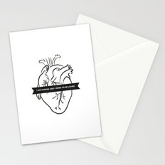 I Am Human & I Need to be Loved Stationery Cards