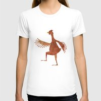 chicken T-shirts featuring Chicken by Jade Young Illustrations