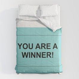 Ticket Green Comforters