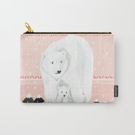 The White Bears and the Tin Soldier Carry-All Pouch