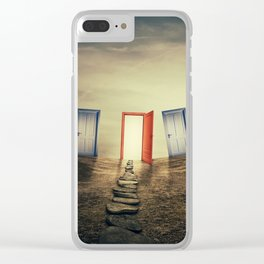 the right choice Clear iPhone Case
