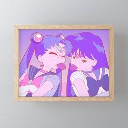 girls Framed Mini Art Print