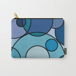 Blue Conundrum Carry-All Pouch