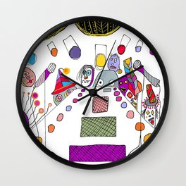 stage fright Wall Clock