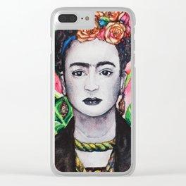 Frida Khalo Clear iPhone Case
