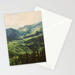 Mountain Side Stream Stationery Cards