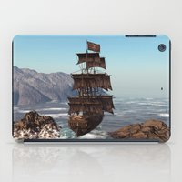 pirate ship iPad Cases featuring Pirate Ship by Simone Gatterwe
