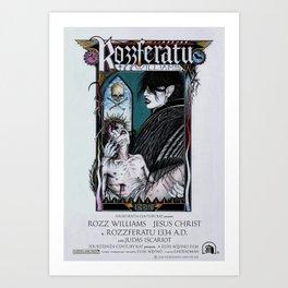 Rozzferatu - Fictional Poster Version Art Print