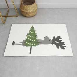 Getting Ready for Christmas Rug