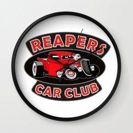 REAPERS CAR CLUB INTERNATIONAL Wall Clock