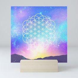 Sacred Geometry (Cosmic Flower) Mini Art Print