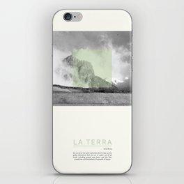 La Terra iPhone Skin